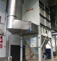 Herding FLEX for dry filtration of (UV-Paint) Wet Paints