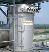 Herding FLEXTOP en tant que filtre de bunker ou de siloHerding FLEXTOP en tant que filtre de bunker ou de silo